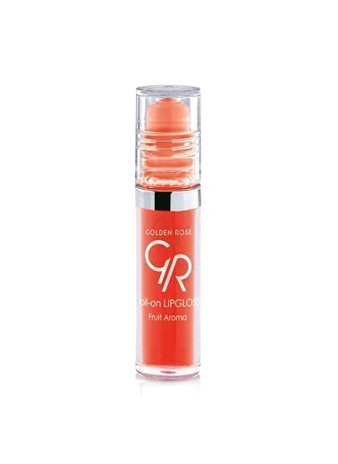 Golden Rose Golden Rose Roll-On Lip Gloss Meyveli Dudak Parlatıcı Çilek Oranj